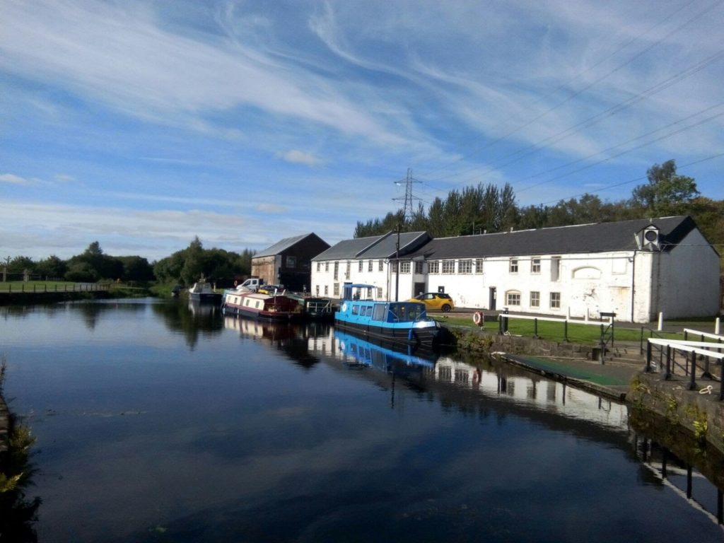 Bike Ride Forth and Clyde Canal