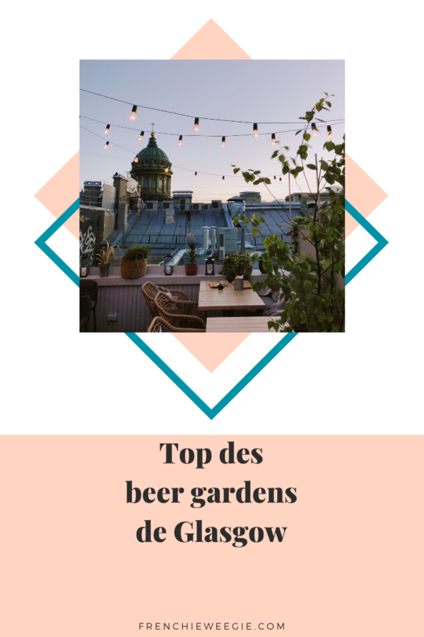 Top beer gardens Glasgow